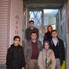 Sezai Karakoç'a öğrencilerden ziyaret