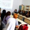 Bosnalı hanımlara el sanatları dersi