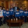 Üsküdar'ın şampiyon minik sporcularına birer kese altın