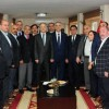 Murat Karayalçın DİSK'i ziyaret etti