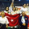 Türkiye'ye 19 madalya ile döndüler