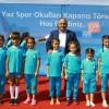 Ümraniye yaz spor okulları tamamlandı