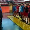 Başkan Erdem'den güreşçilere moral ziyareti