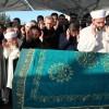 Cumhurbaşkanı Erdoğan ile Başbakan Davutoğlu cenazede
