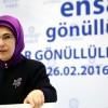 Emine Erdoğan 'Ensar Gönüllüleri' ile buluştu