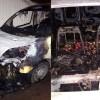 Sultanbeyli'de 11 araç kundaklandı