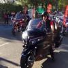 Motor tutkunları Şehitler için Bağdat Caddesi'nde