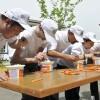 Kanlıca'da denize nazır yoğurt yarışı
