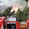 Ümraniye'deki yangın söndürüldü