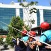Bağcılar Belediyesi Engelliler Sarayı'nda tatbikat