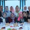 Huri Yazıcı, ekibiyle iftar sofrasında