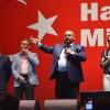 Belediye başkanları Taksim'de