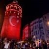 Galata Kulesi de nöbette