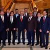 Başbakan Yıldırım, belediye başkanlarını kabul etti