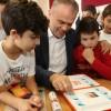 Çekmeköy Belediyesi'nden öğrencilere mangala oyun seti