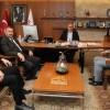 Ümraniye Göz Hastanesi yetkililerinden Başkan Can'a ziyaret