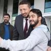 TBF Başkanı Hidayet Türkoğlu engelli sporcuları ağırladı