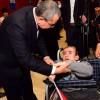 Başkan Erdem engellilerle buluştu
