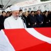 Cumhurbaşkanı Erdoğan, Şehit Haşim Usta'nın cenaze töreninde