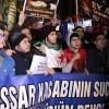 İran'a Halep protestosu