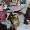 Engelli dostu Başkan Can, Güler'i evinde ziyaret etti