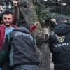 Polis okul önlerinde nöbette