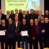 Sancaktepe'de kursu bitiren arı yetiştiricilere sertifika verildi