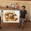 İranlı sanatçı Adak Jamshıdzadeh Başkan Can'ı ziyaret etti
