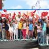 Arnavutköy'de tekne orucu tutan minikler iftar yaptı