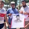 Arnavutköy'den bisikletle yola çıkanlar Şehit Ömer Halisdemir'in kabrine vardı