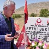 Mustafa Ataş, Şehit Fethi Seki'nin kabrini ziyaret etti