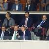 Cumhurbaşkanı Erdoğan, tribünde yerini aldı