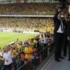 Cumhurbaşkanı Erdoğan'a Fenerbahçe seyircisinden yoğun ilgi