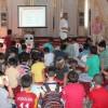 Esenlerli çocuklara camide afet bilinci