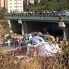 Kadıköy'de beton mikseri köprüden aracın üstüne düştü, bir ölü