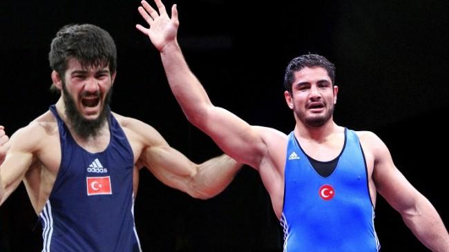 Bildergebnis für milli güreşçiler Akgül ve Demirtaş
