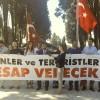 15 Temmuz gazileri, terörist sevici Sezgin Tanrıkulu'yu protesto etti