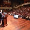 Başkan Hasan Can'ın tarihi Kudüs konuşması