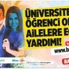 Beykoz Belediyesi'nden eğitim yardımı