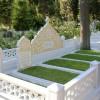 Cumhurbaşkanı Erdoğan, büyüklerinin mezarını ziyaret etti