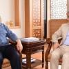 İETT Genel Müdürü Arif Emecen, Başkan İsmail Erdem'i ziyaret etti