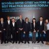 Beyoğlu Belediyesi kardeşlerini ağırladı