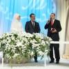 Cumhurbaşkanı Erdoğan, sunucusu Kaptanoğlu'nun nikah şahidi oldu
