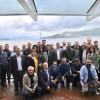 Başkan Türkmen, Radyocuları Valide Sultan Gemisinde ağırladı
