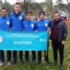 Ümraniyespor yıldız erkekler atletizm takımı Türkiye Şampiyonasında