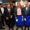 Başkan Türkmen, Valide Sultan Gemisi'nde, pazar esnafını ağırladı
