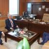 Başkan Hasan Can, İSKİ Genel Müdürü Fatih Turan'ı ziyaret etti