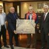 Gaziler Derneği'nden Başkan Çelikbilek'e ziyaret