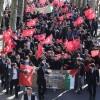 Kudüs'e sahip çıkan Beykoz Gençliğinin haykırışı ABD'den duyuldu!