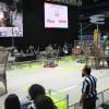 Liselerarası robotik turnuvasında büyük heyecan vardı